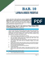 012. Bab 10. Laporan - Pws. Air