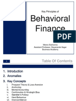 Behavioural Finanace