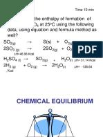 2. Chemical Equilibrium