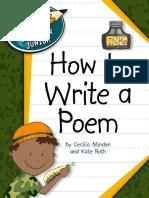 Explorer Junior Library - How to Write a Poem