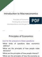 1 - 2 Introduction to Macroeconomics