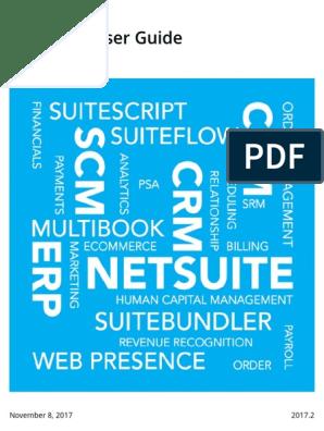 Netsuite Docs pdf | Software Testing | Business Process