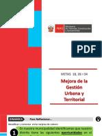 Mejora de la Gestión Urbana y Territorial