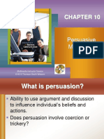 Chapter 10 - Persuasive Messages - F