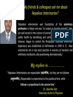 Nepalese veterinarian -Dr.Jibachha Sah