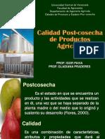 Calidad PostCosecha de Productos Agricolas