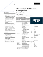 Dow Corning 993 Product Info