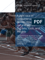 A Tight Race in Consumer Packaged Goods How to Break Out and Win With Big Data Tools and Insights