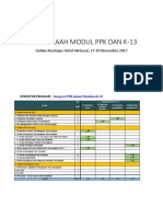 Struktur Bimtek Pasca Integrasi Dengan PPK