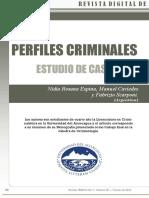 Perfiles Criminales - Estudio de Caso