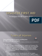 Disaster First Aid
