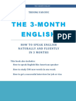 The 3-Month English