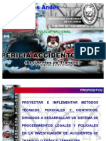 Pericia Accidentológica
