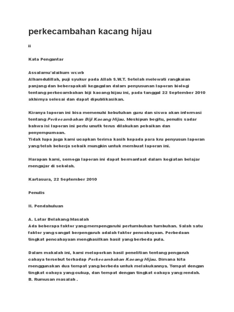 9600 Koleksi Ide Rancangan Penelitian Biologi Kacang Hijau Gratis Terbaik Untuk Di Contoh