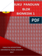 Buku Panduan Blok Biomedik 1 Edit Lidia