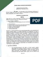 Manipur FSO Syllabus