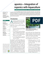 ATTRA -- Aquaponics - Integratoin of Hydroponic With Aquaculture