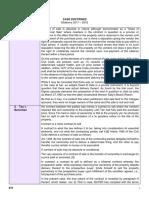 Sales Case Doctrines - Midterms