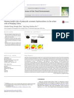 Human Health Risks of Polycyclic Aromatic Hydrocarbons in the Urban