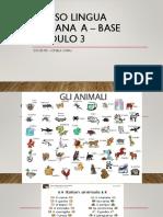Corso Lingua Italiana a - Base Modulo 4