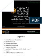 KVM, OpenStack, And the Open Cloud - ANJ MK - 13Oct14