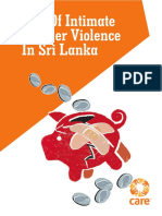 Cost of Intimate Partner Violence in Sri Lanka
