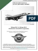 FF Natops Mirage III