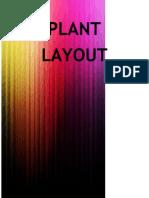 Plant Layout Part I