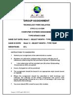 02 CSM Assignment Cover