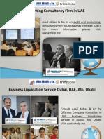 Financial Management Consultancy in Dubai, UAE, Abu Dhabi
