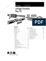 low voltage busway