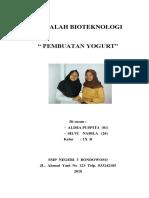 Cover Makalah Bio Teknologi