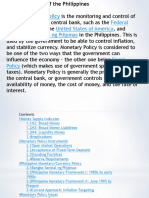 Monetary Policy(Group 15)