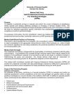 Focused Professional Practice Evaluation