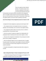Vendor Consignment Process _ SAP Blogs