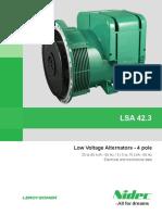Alternator LSA42.3j En