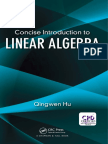 Qingwen Hu-Concise Introduction to Linear Algebra-Chapman and Hall_CRC (2017)