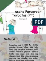 Badan Usaha Perseroan Terbatas (PT)