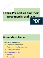 Fabric Properties