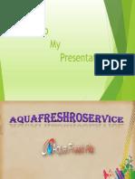 Aqua Fresh RO Service Provider in Janakpuri, Delhi. Contact us