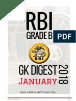 GK Digest 2018 January (RBI Grade B) (1)