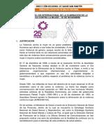 Informe Por Fechas Especiales - Día Internacional de La No Violencia(Dires)