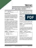 Implementing de FFT en MPLAB Jp 575630