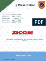 Zicom new