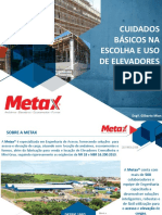 05 - ELEVADOR METAX