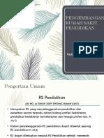 Peran Rumah Sakit Pendidikan Dalam Pendidikan PPDS.ppt