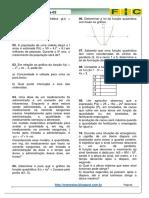 2ª Lista de Exercícios-matemática(Função Quadrática )