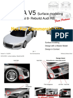 Tutorial 8 Surface Modelling Rebuild Audi R8 2