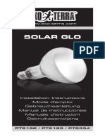 SAMPLE Solar Glo Instruction Manual EU 20151006