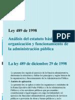 Análisis del estatuto básico de organización y funcionamiento